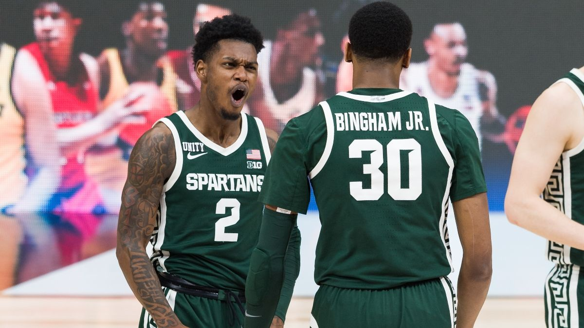 Michigan State vs. UCLA Promo: Bet the Spartans at +99.5 (and Rising)! article feature image