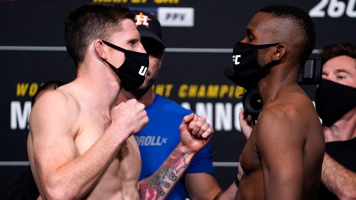 Jamie Mullarkey vs. Khama Worthy UFC 260 Odds, Pick & Prediction (Saturday, March, 27) article feature image