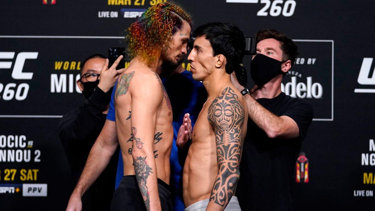 Sean O'Malley vs. Thomas Almeida UFC 260 Odds, Pick & Prediction (Saturday, March 27) article feature image