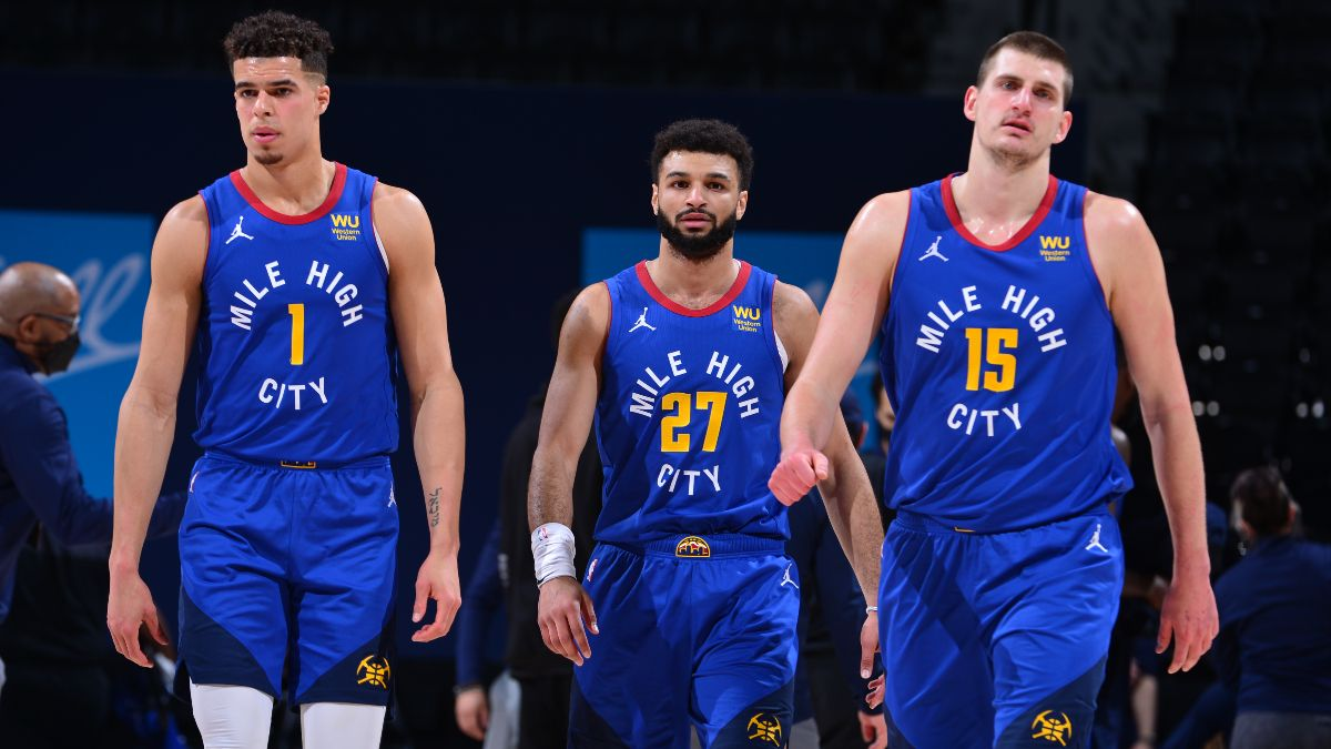 NBA Odds & Picks: Our Staff's Best Bets for Nuggets vs. Raptors, Clippers vs. Spurs (Wednesday, March 24) article feature image