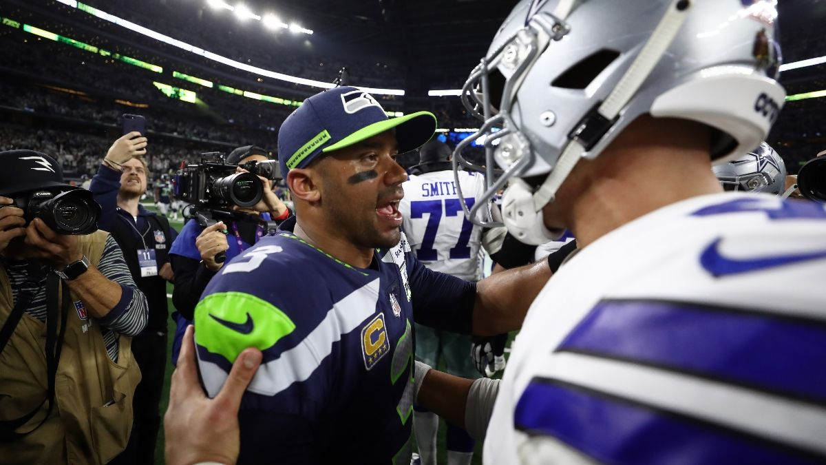Russell Wilson Trade Odds After Dak Prescott Reaches New Deal With Cowboys article feature image