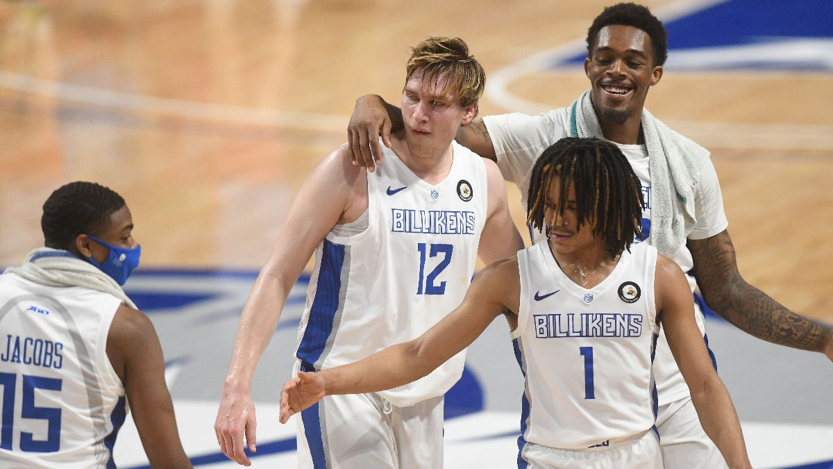 Stuckey: How I'm Betting College Basketball Mid-Major Conference Tournament Futures article feature image