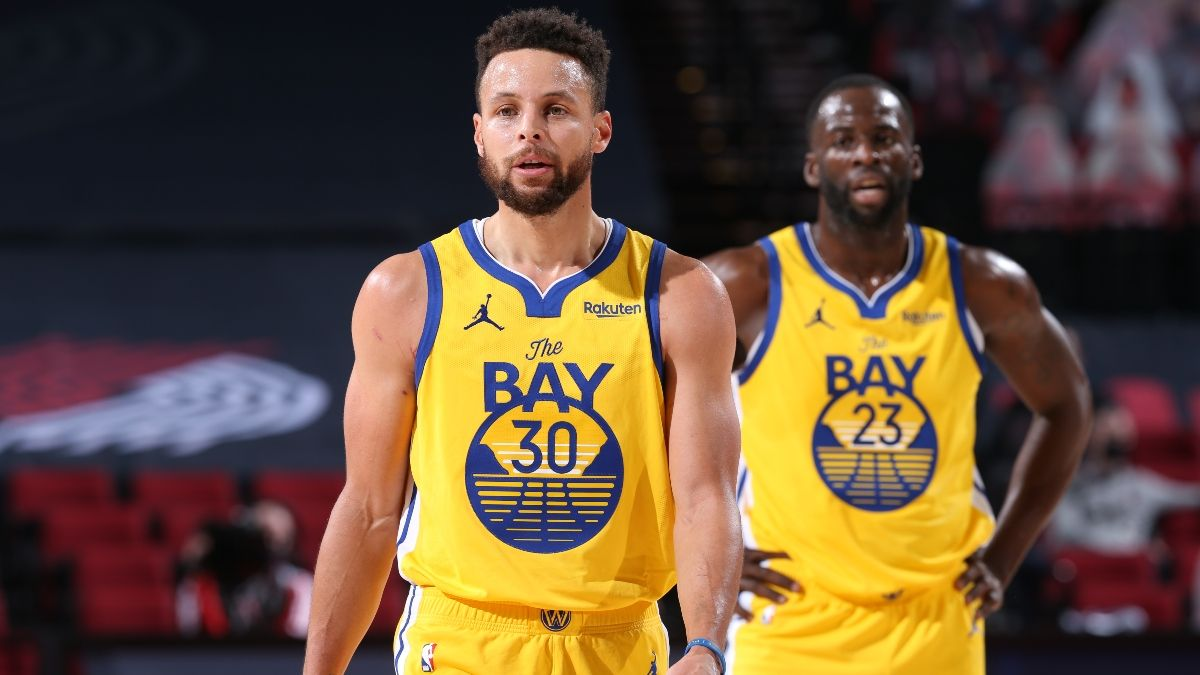 NBA Playoff Odds: The Golden State Warriors' 2021 Title Chances article feature image