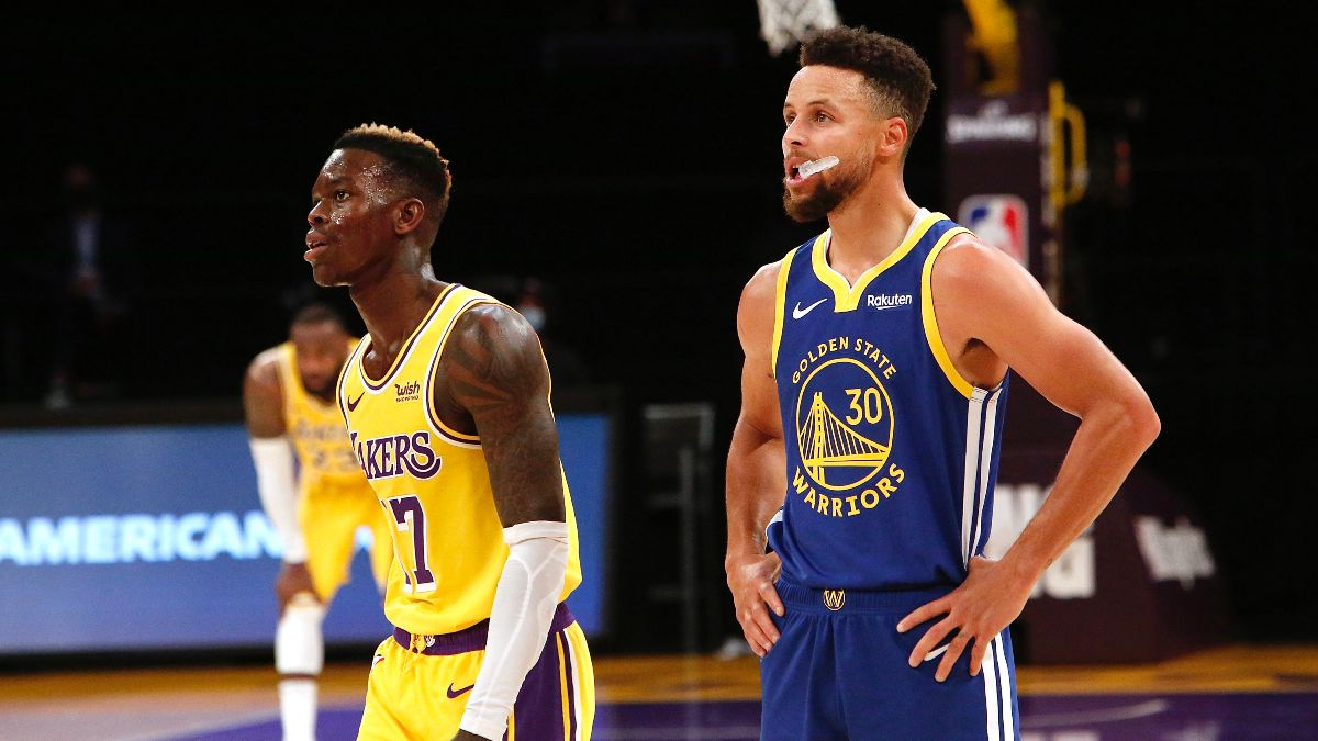 Lakers vs. Warriors NBA Odds & Picks: How to Bet Monday Night's Western Conference Clash (March 15) article feature image