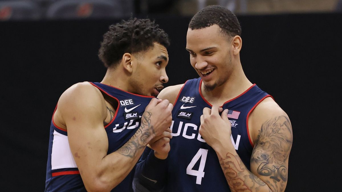 2021 NCAA Tournament Odds, Picks, Predictions: UConn vs. Maryland (March 20) article feature image