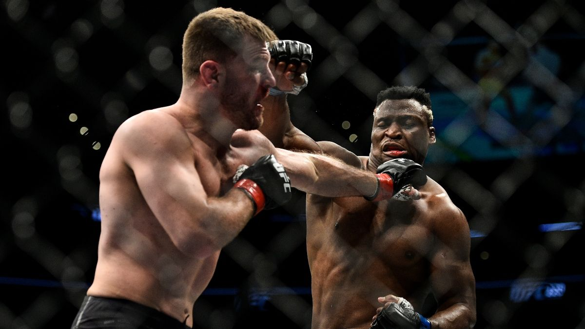 UFC 260 Odds & Promos: Bet $20, Win $150 if Miocic-Ngannou Lasts 5+ Seconds, More! article feature image