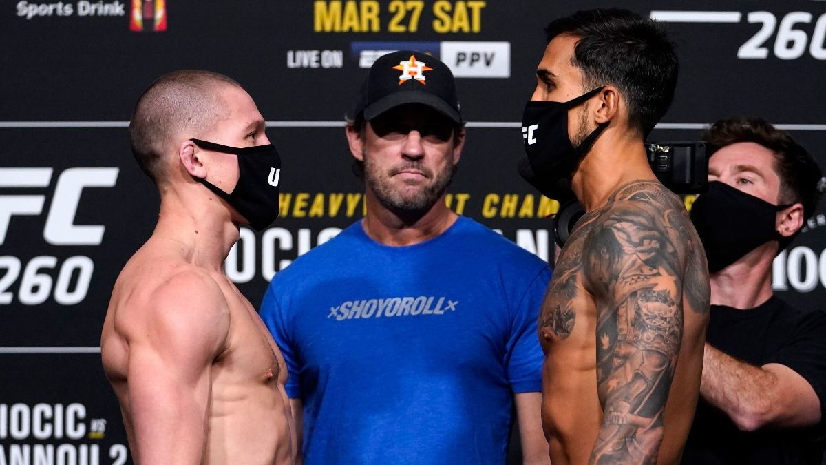 UFC 260 Odds, Pick & Prediction: Shane Young vs. Omar Morales (Saturday, March, 27) article feature image