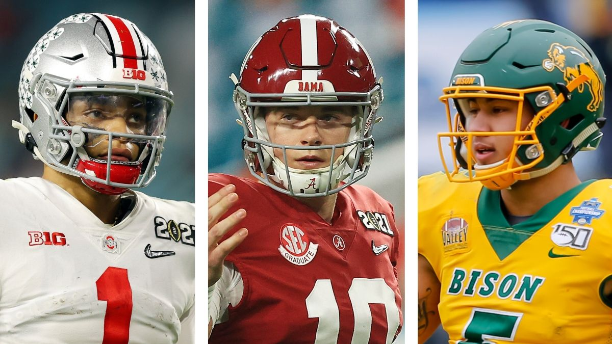 No. 3 Pick Odds For the 2021 NFL Draft: How Mac Jones Became Favorite Over Justin Fields & Trey Lance article feature image