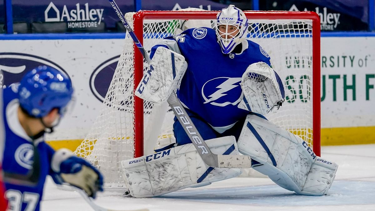 NHL Odds & Pick for Hurricanes vs. Lightning: Betting Based on Who Tampa Bay Has in Net (Tuesday, April 20) article feature image