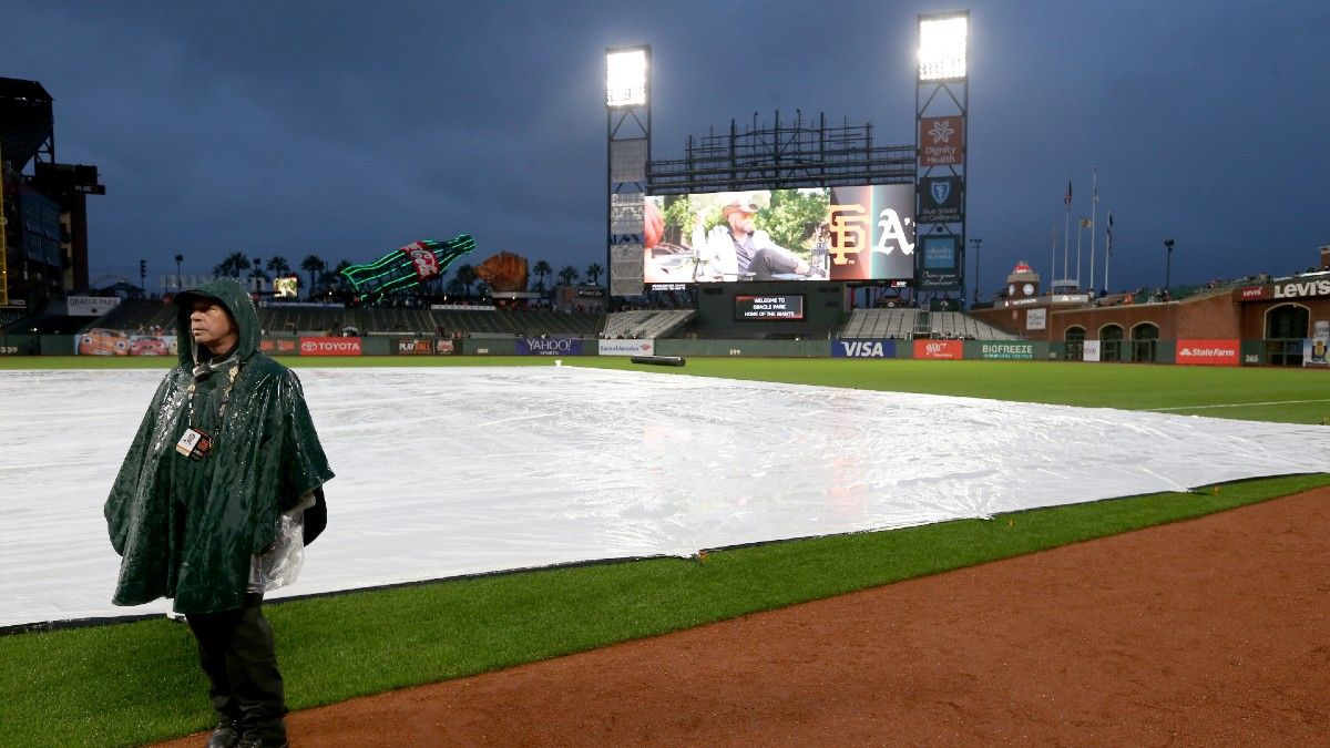 MLB Weather Report for Sunday, April 25: Rain Possible in Boston, Queens, San Francisco, Plus Forecasts for Every Game article feature image