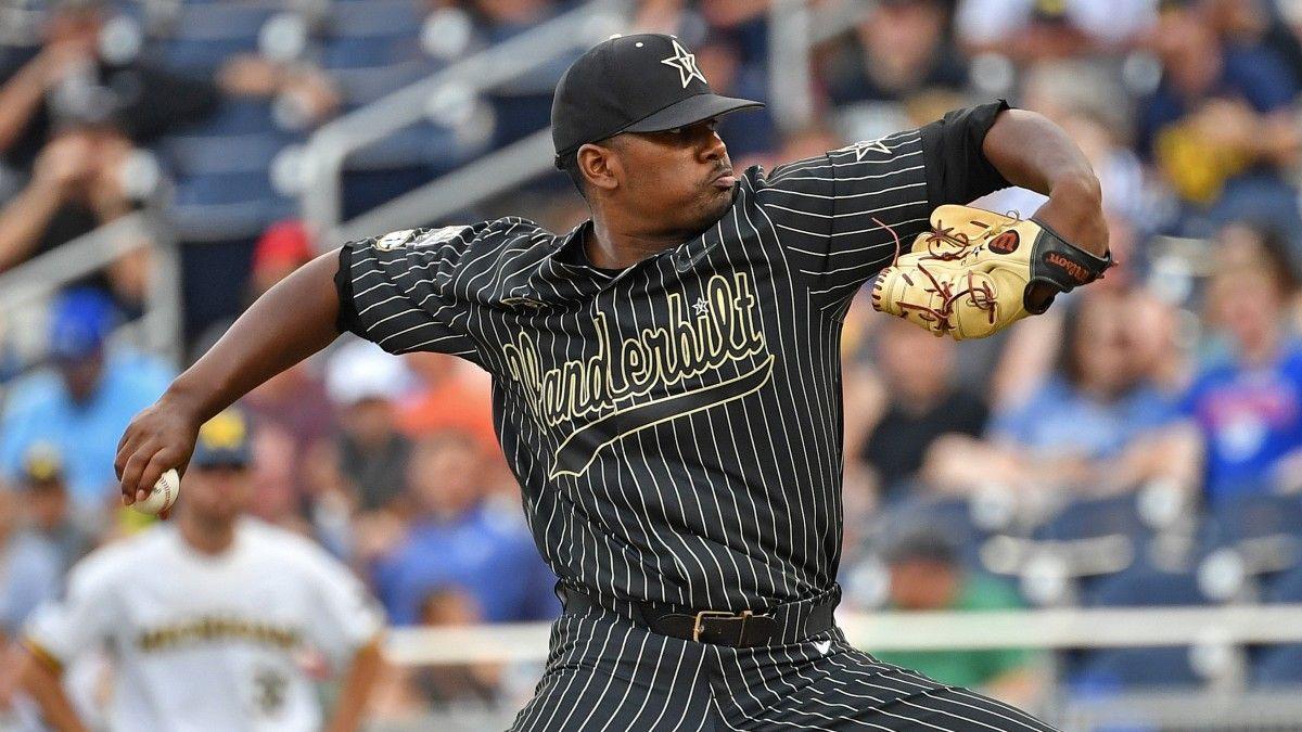 2021 College World Series Futures: Arkansas & Vanderbilt Baseball Lead Field to Win in Omaha article feature image
