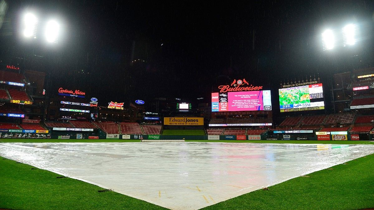 MLB Weather Report for Wednesday, April 28: Phillies-Cardinals Has Significant Postponement Risk, Plus Forecasts for Every Game article feature image