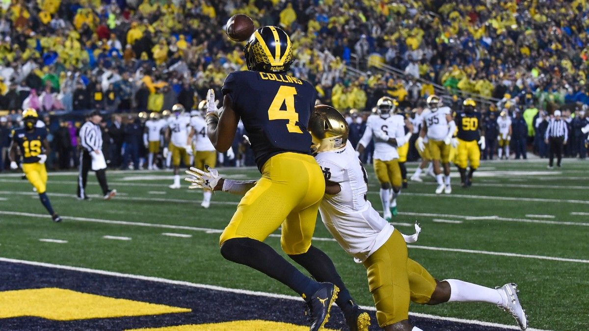 Nico Collins 2021 NFL Draft Profile: Dynasty Fantasy Football Analysis & Props To Bet article feature image