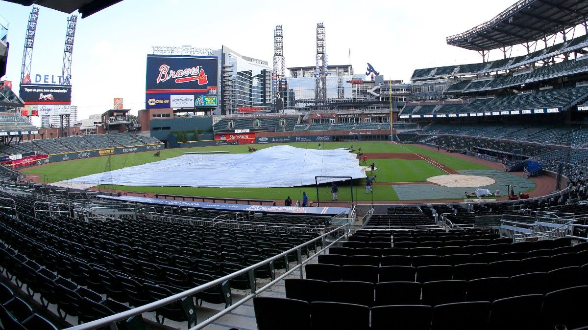 MLB Weather Report for Saturday, April 24: Rain Threatens Orioles-Athletics, Diamondbacks-Braves, Plus Forecasts for Every Game article feature image