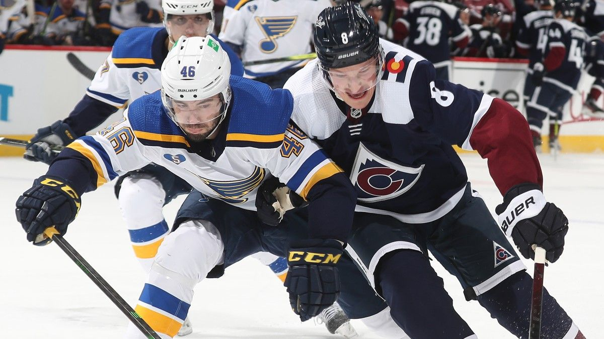 Blues vs. Avalanche NHL Odds & Pick: Colorado Should Roll Over St. Louis (April 3) article feature image