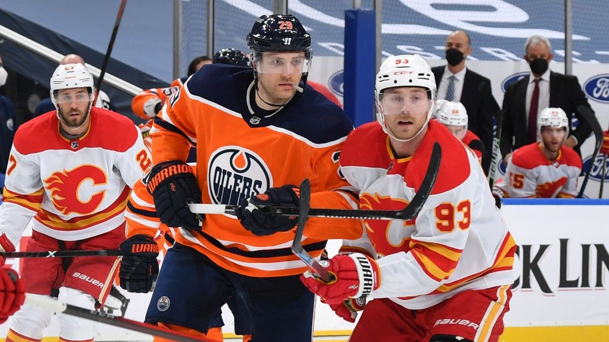 NHL Odds & Pick for Edmonton Oilers vs. Calgary Flames: Which Team has Value in Battle of Alberta? (April 10) article feature image