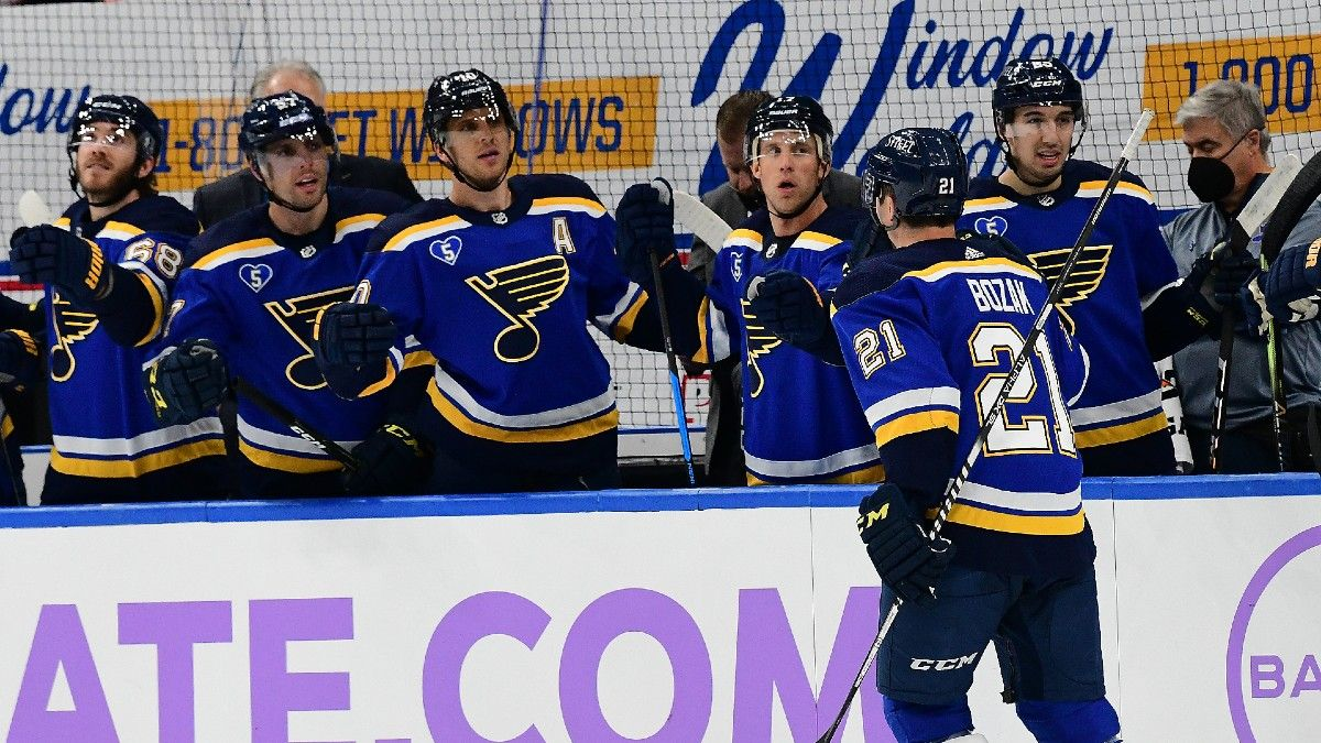 Vegas Golden Knights vs. St. Louis Blues NHL Odds & Pick: Blues Can Find Enough Offense article feature image