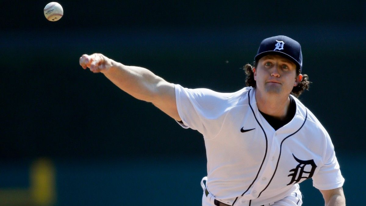 Tigers vs. Astros MLB Odds & Picks: Expect Plenty of Runs Against Youngster Mize, Veteran Greinke (Monday, April 12) article feature image