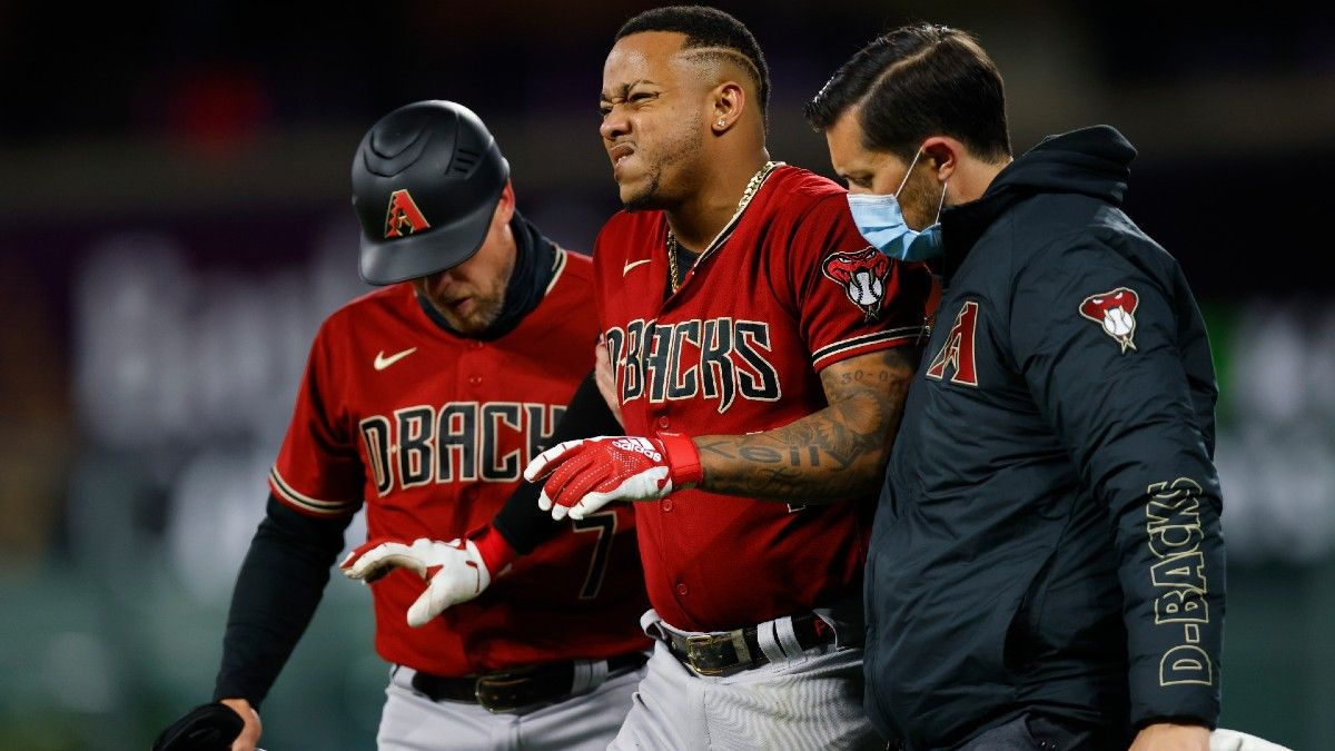 MLB Daily Lineups & Injury News (April 8): Ketel Marte Placed on Injured List article feature image