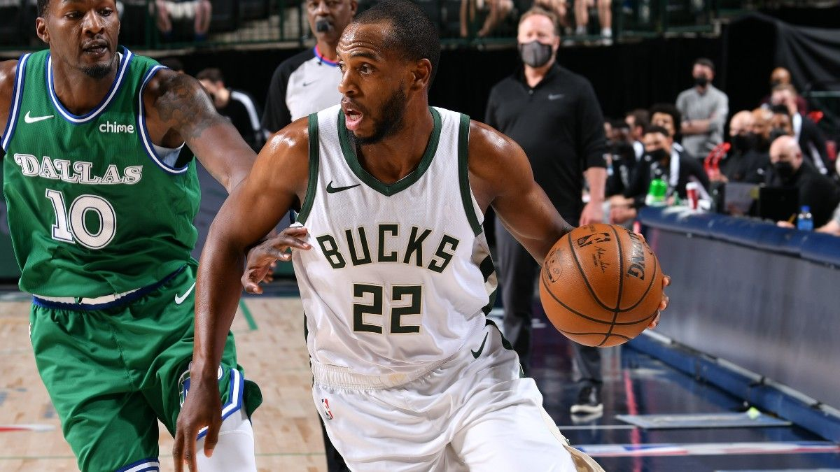 NBA Player Prop Bets, Picks: Buy Khris Middleton on Saturday as Giannis Works Back (April 17) article feature image