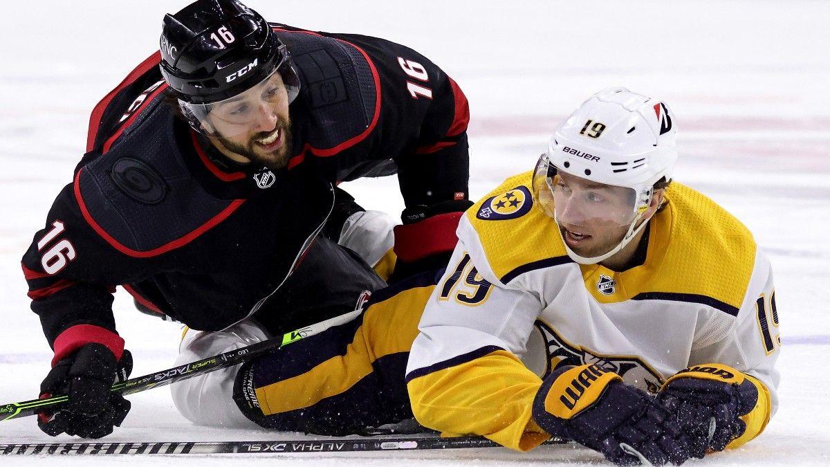 Predators vs. Hurricanes NHL Odds & Pick: Nashville Provides Good Value as Big Underdog (Saturday, April 17) article feature image
