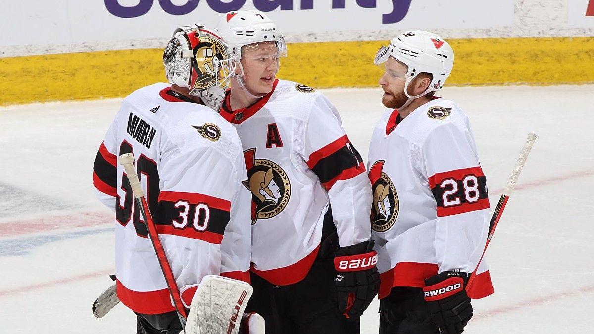 Senators vs. Canucks NHL Odds & Picks: Back Ottawa For A Rare Win (April 22) article feature image