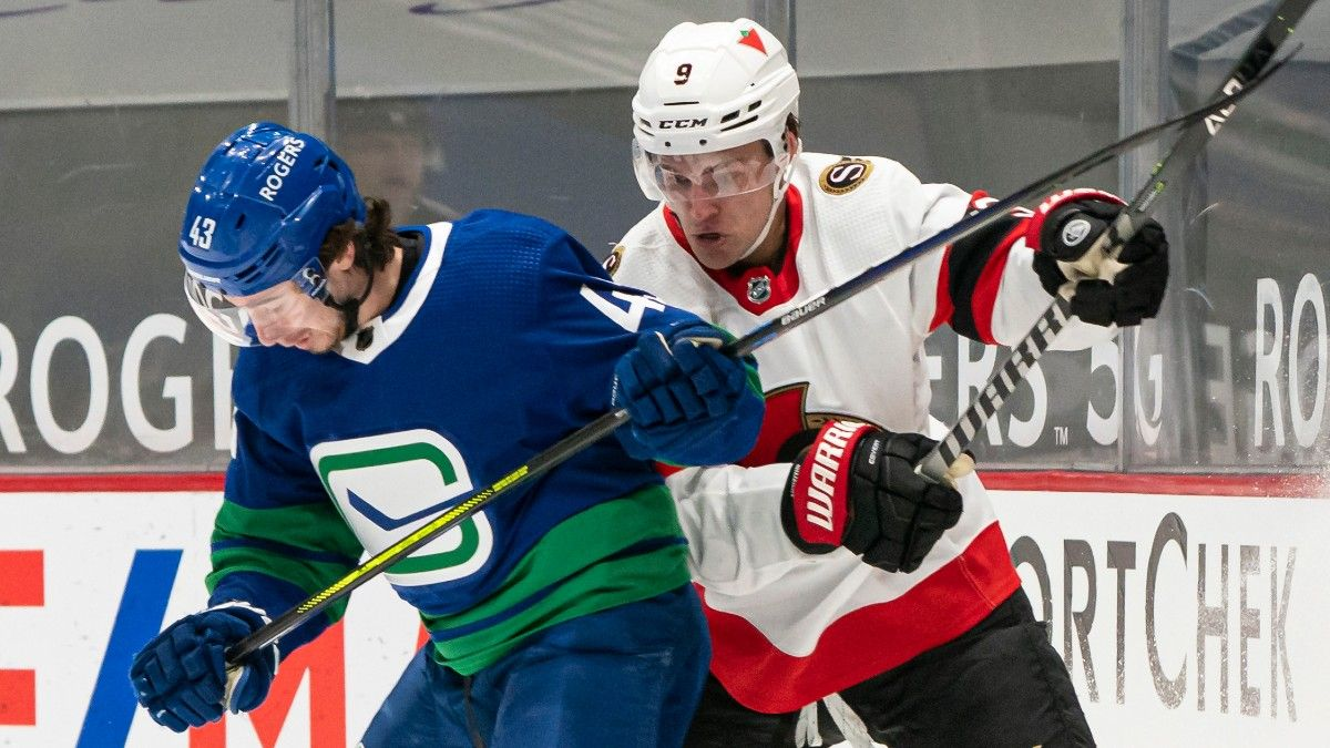 Senators vs. Canucks NHL Odds & Pick: The Wrong Team is Favored in Vancouver (Saturday, April 24) article feature image