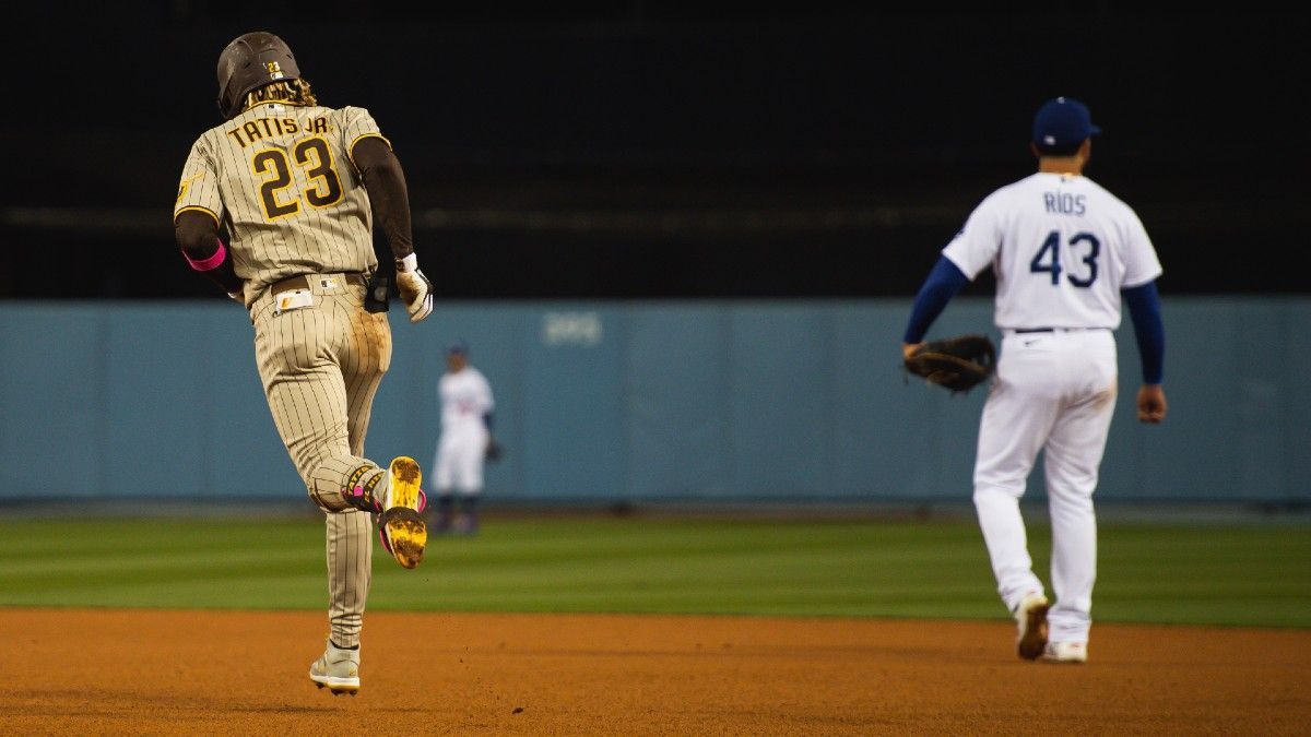 Sunday MLB Odds & Picks: Our 3 Favorite Bets, Including Royals vs. Tigers, Phillies vs. Rockies & Padres vs. Dodgers (April 25) article feature image