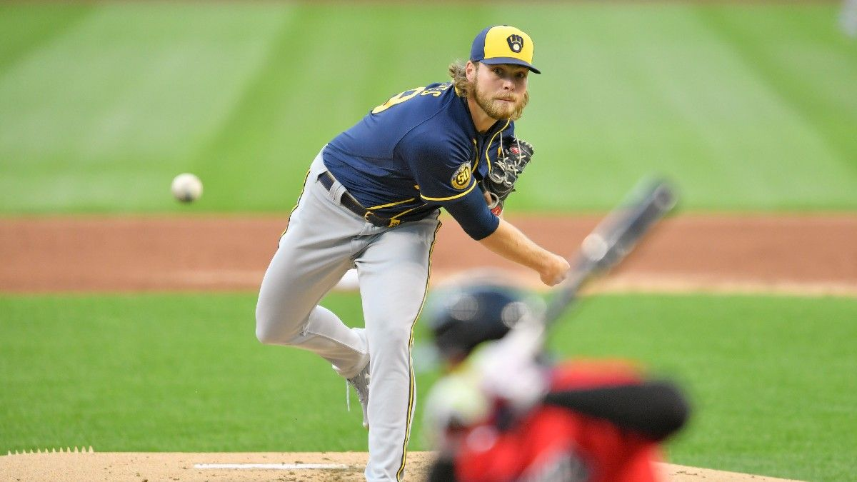 MLB Player Prop Picks: Corbin Burnes' Posting Unsustainable Numbers (Monday, April 26) article feature image