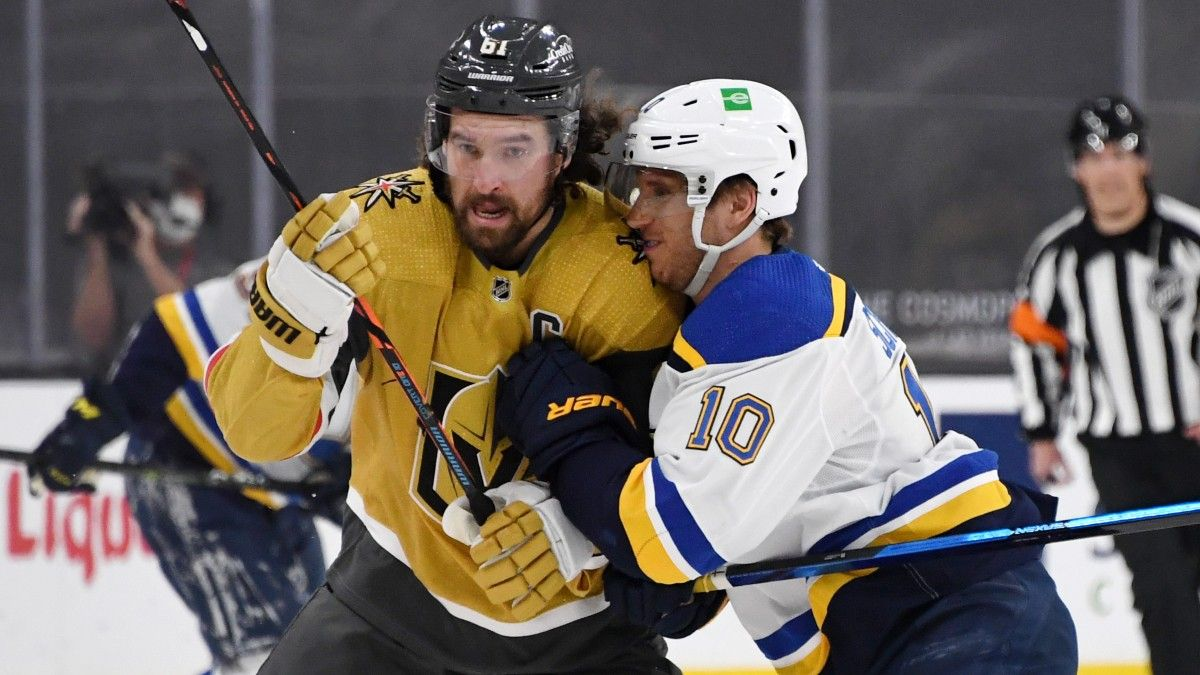 NHL Odds & Pick For Golden Knights vs. Blues: Will Vegas Continue Its Dominance? article feature image