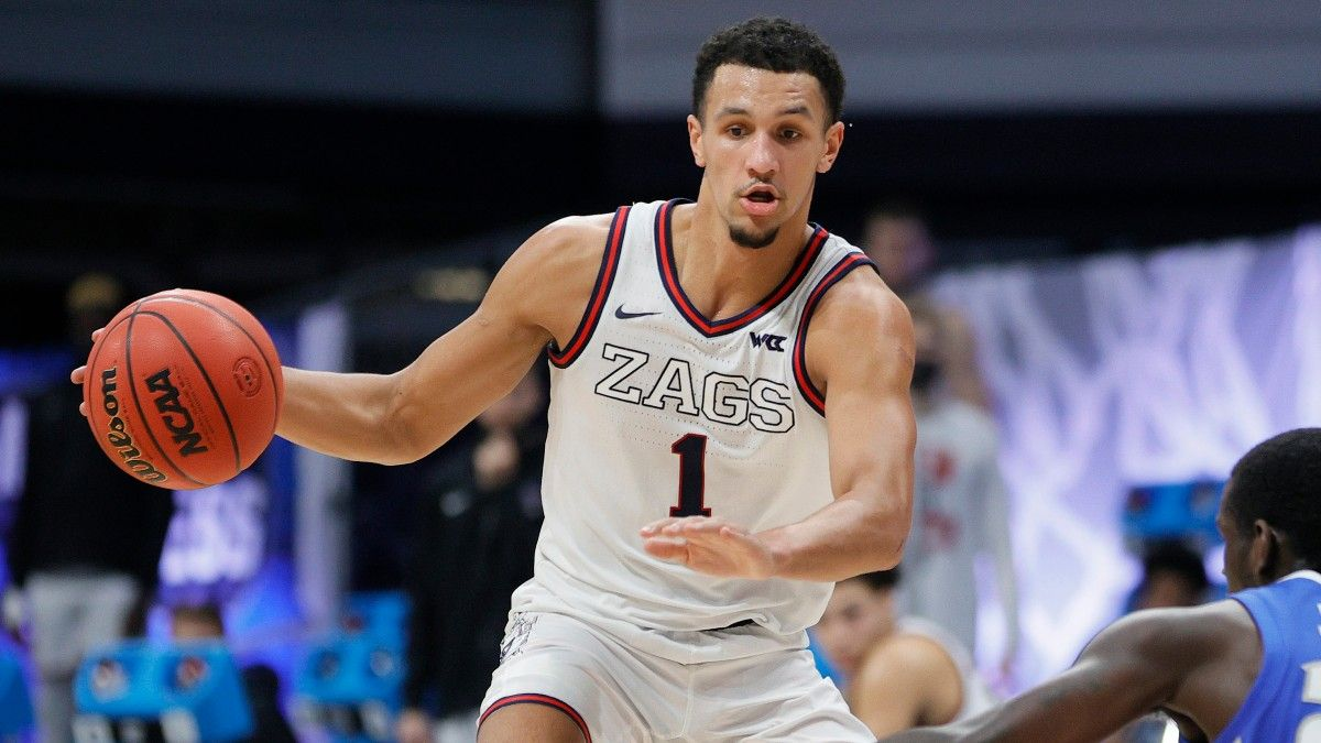 Gonzaga vs. UCLA Player Props: The Final Four Picks to Make for Jules Bernard, Jalen Suggs, & Joel Ayayi article feature image