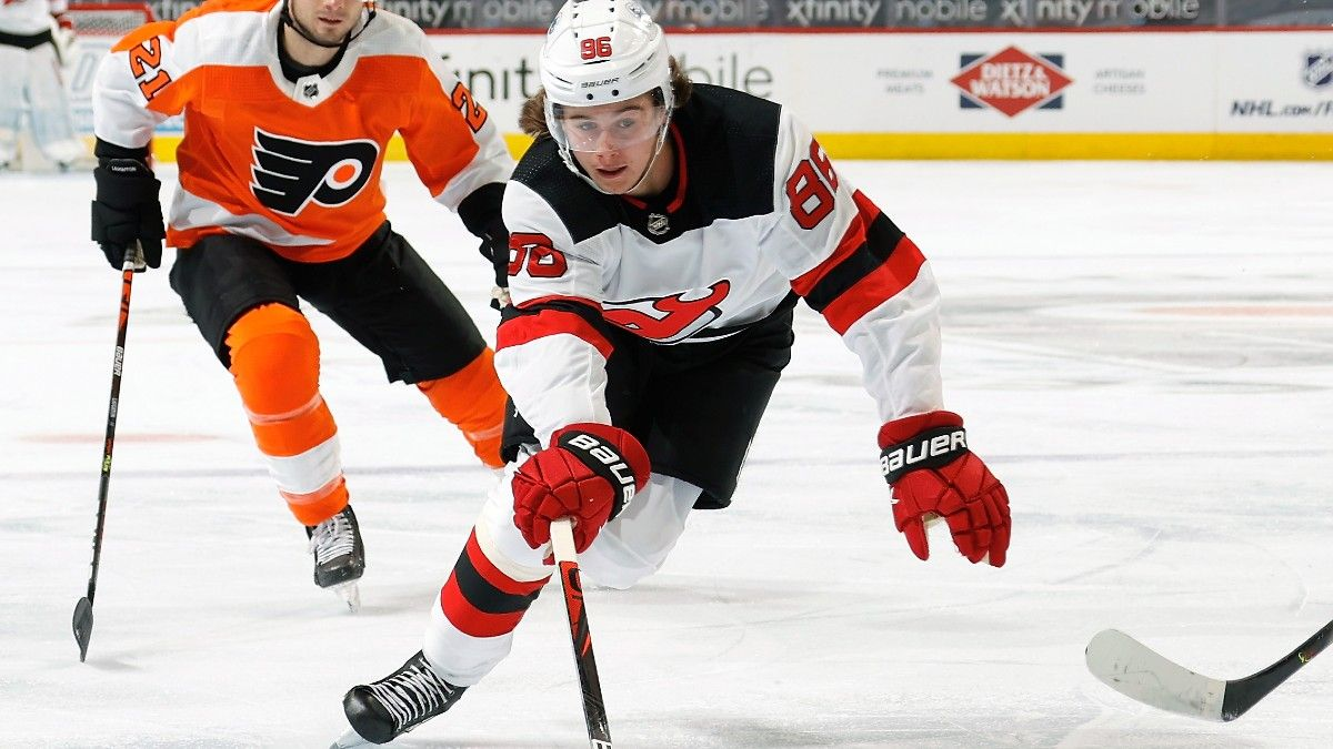 Devils vs.  Sabres NHL Odds & Pick: New Jersey Won't Lose Two Straight to Buffalo (April 8) article feature image