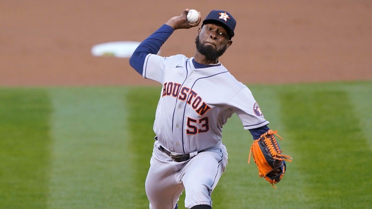 Athletics vs. Astros MLB Odds & Picks: Cristian Javier Gives Houston Early Value (Thursday, April 8) article feature image