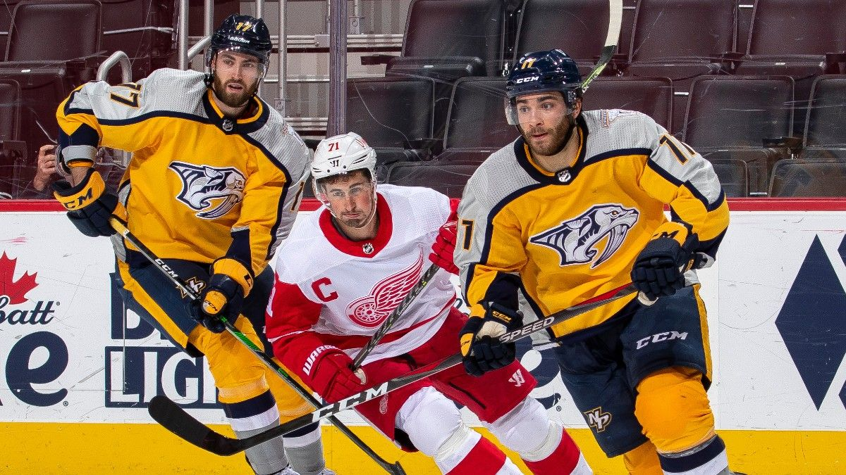 Predators vs. Red Wings NHL Odds & Pick: Back Detroit as a Home Underdog (Thursday, April 8) article feature image