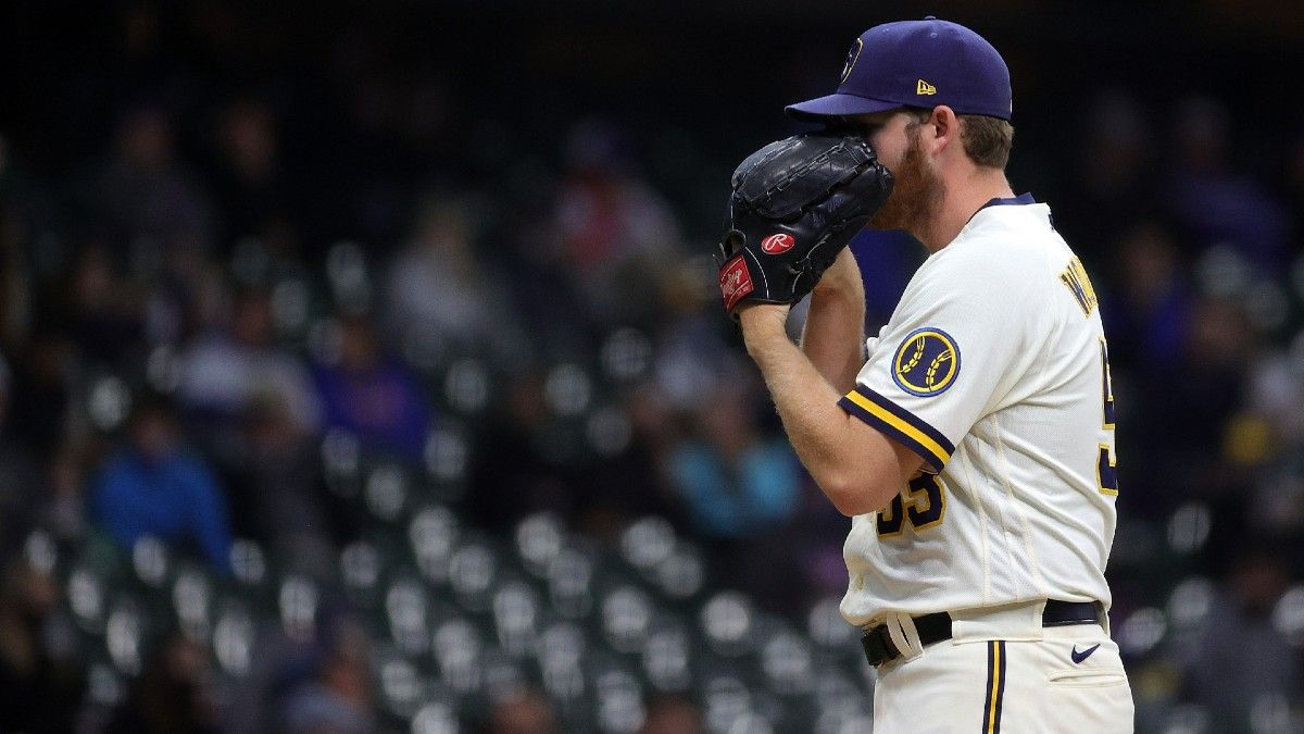 MLB Betting Odds & Picks: 4 Best Bets for Monday, Including Giants vs. Phillies, Cardinals vs. Nationals & Brewers vs. Padres (April 19) article feature image