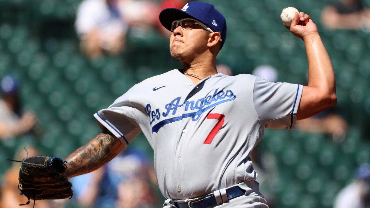 Reds vs. Dodgers MLB Odds & Picks: How to Back Julio Urías Against Cincinnati (Monday, April 26) article feature image