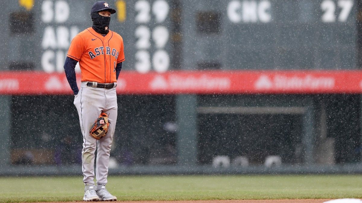Angels vs. Astros MLB Odds & Picks: How to Find Value Between Struggling AL West Teams (Thursday, April 22) article feature image