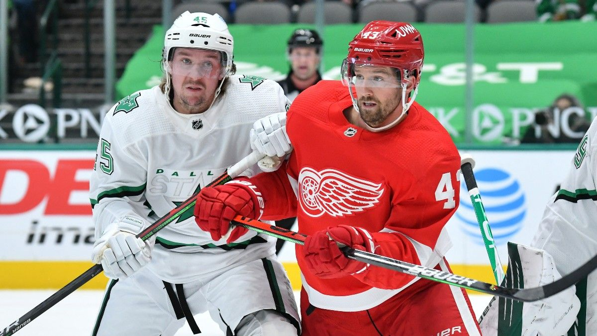 Stars vs. Red Wings NHL Odds & Picks: Back Detroit as Home Underdog (April 22) article feature image