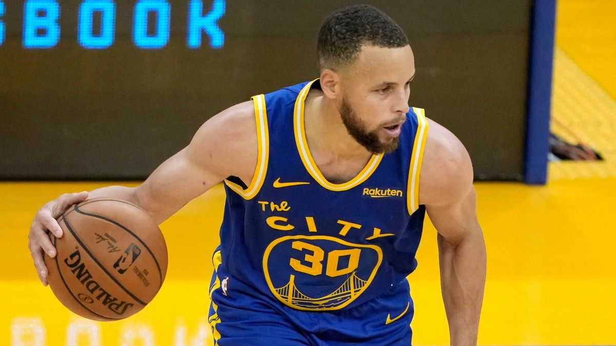 NBA Odds & Picks for Timberwolves vs. Warriors: Will Steph Curry Have Another Big Game? (April 29) article feature image