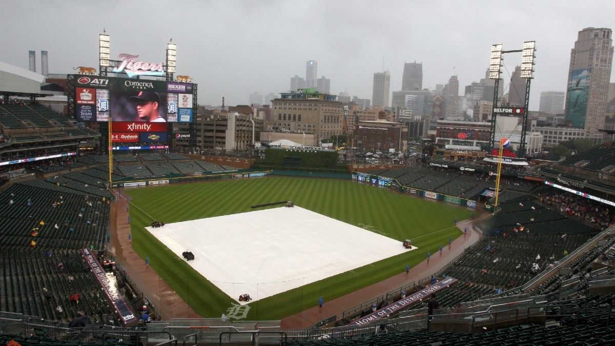 MLB Weather Report for Tuesday, April 20: Rain Likely in Detroit, Possible in Cincinnati, Plus Forecasts for Every Game article feature image