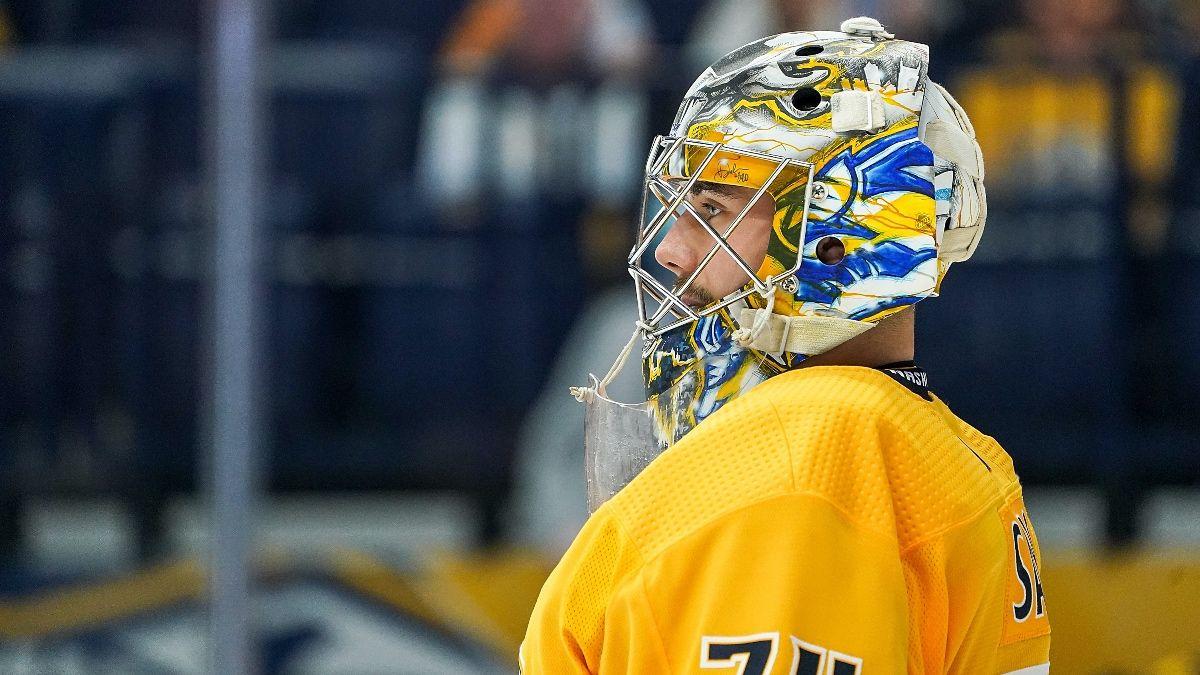 Stars vs. Predators NHL Odds & Pick: Plenty of Value on Total in Sunday Showdown (April 11) article feature image