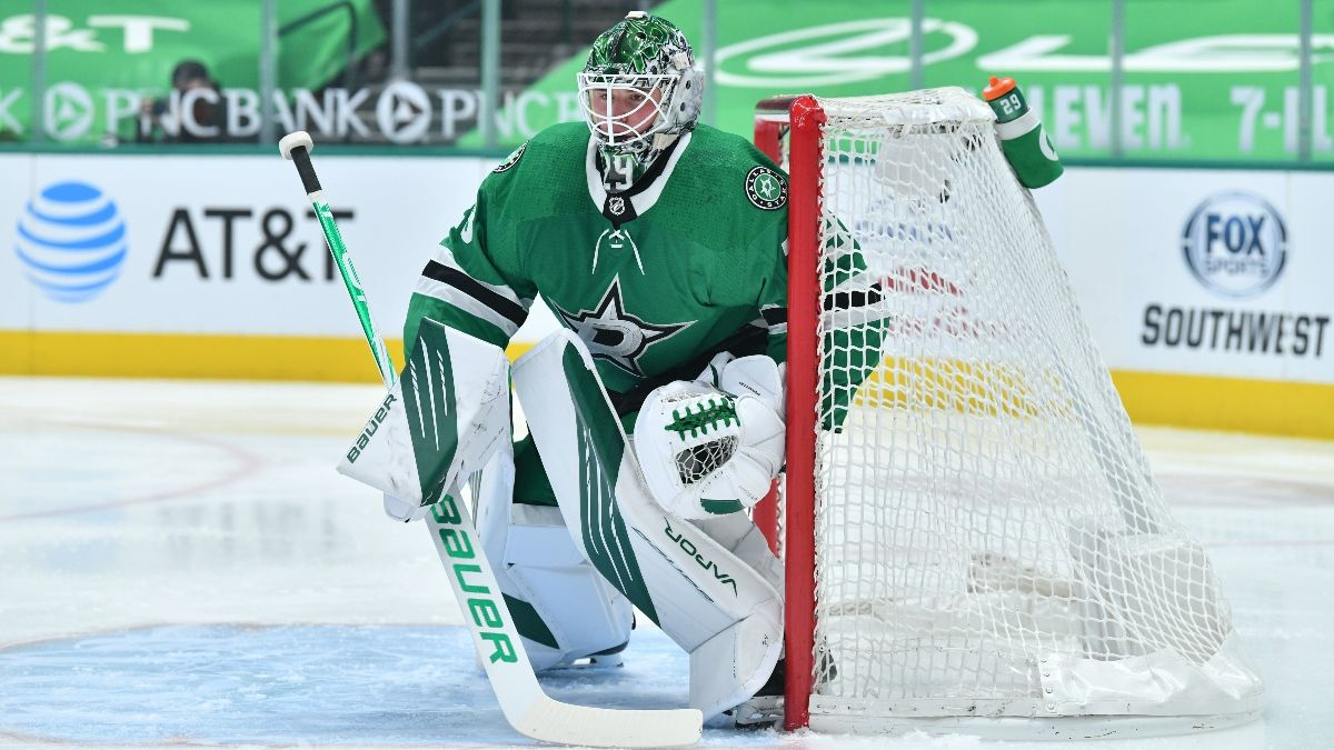 Red Wings vs. Stars NHL Betting Odds & Pick: Expect Low-Scoring Central Division Matchup (Monday, April 19) article feature image