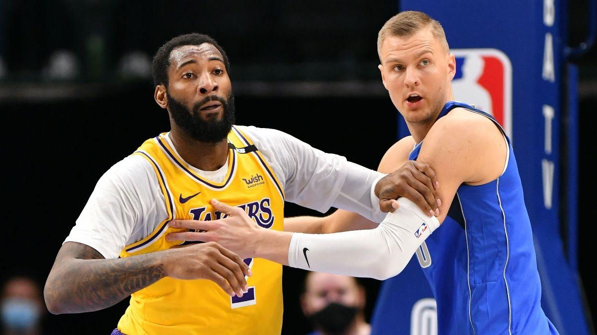 Lakers vs. Mavericks NBA Odds & Picks: Bet Hinges on Health of Porzingis (Saturday, April 24) article feature image