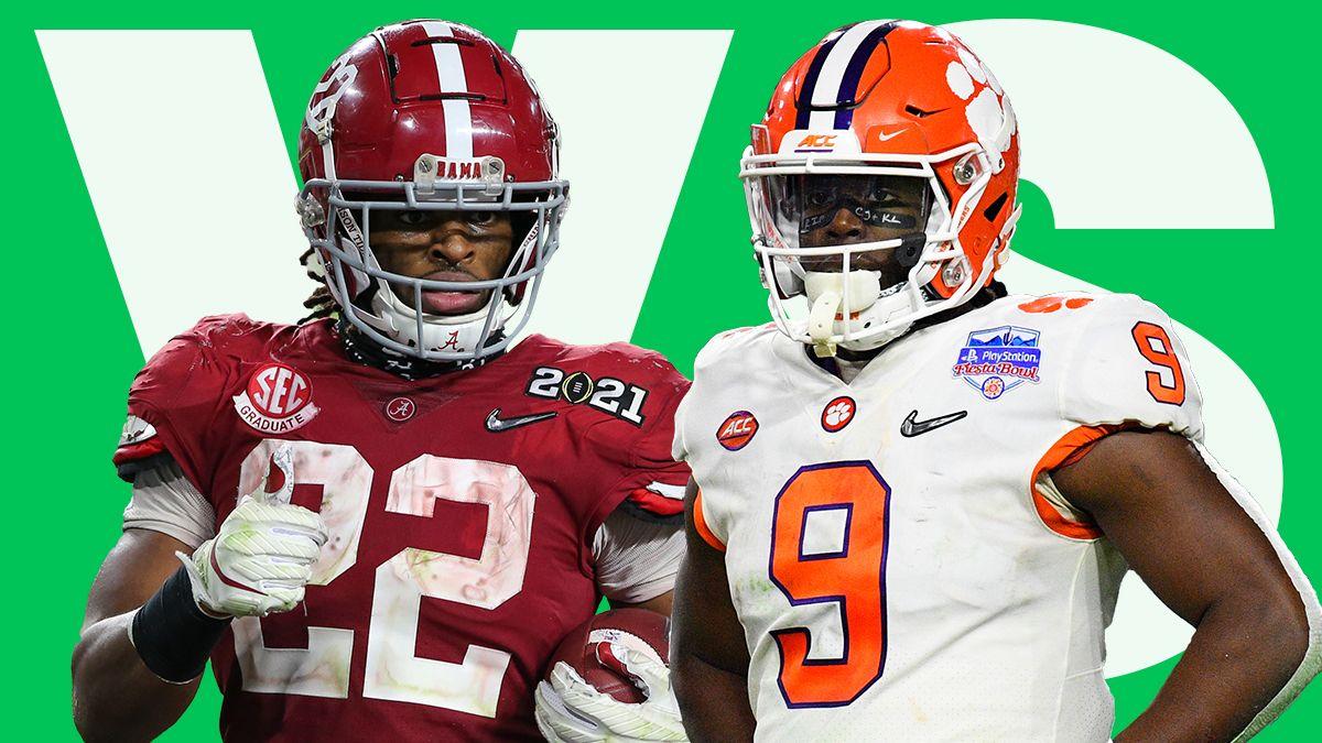 Najee Harris vs. Travis Etienne: Debating Who Is the Best RB of the 2021 NFL Draft article feature image