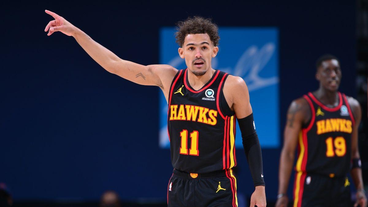 Warriors vs. Hawks NBA Odds & Picks: Lean Toward Atlanta, But Monitor Young's Status (Sunday, April 4) article feature image