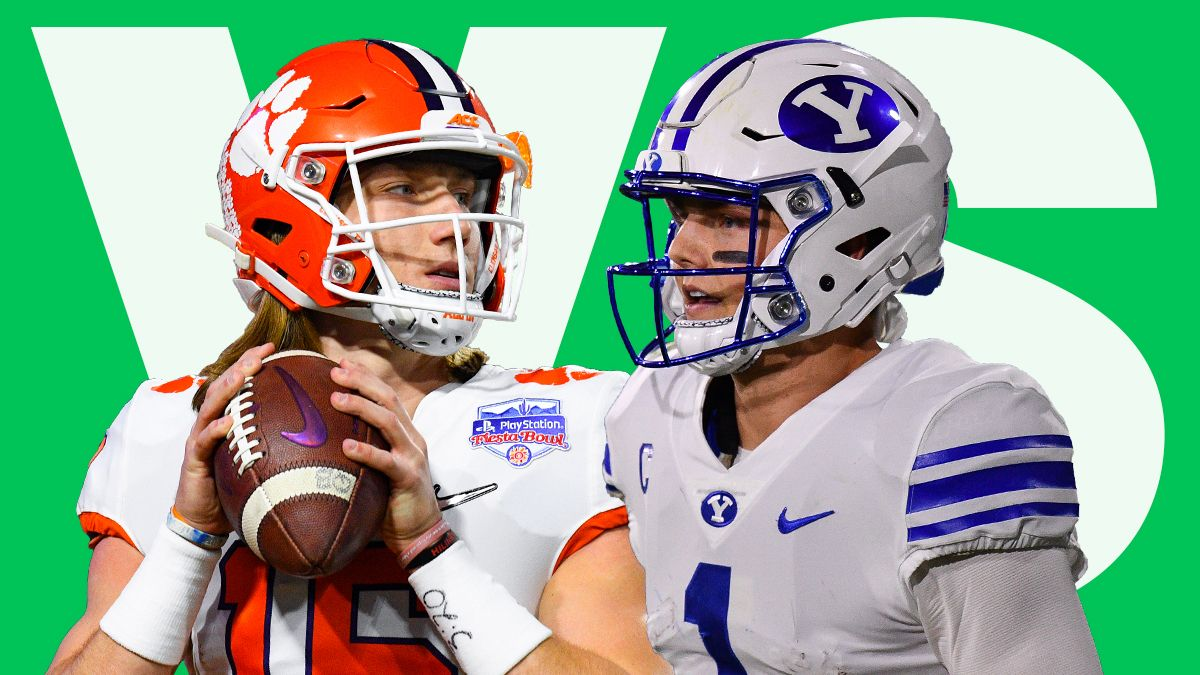 Trevor Lawrence vs. Zach Wilson: Who Should Be the No. 1 Pick In the 2021 NFL Draft? article feature image