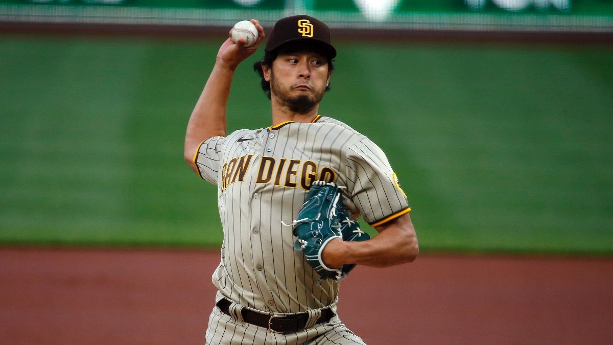 Padres vs. Dodgers MLB Betting Odds & Picks: Expect Yu Darvish to Carry San Diego (Friday, April 23) article feature image
