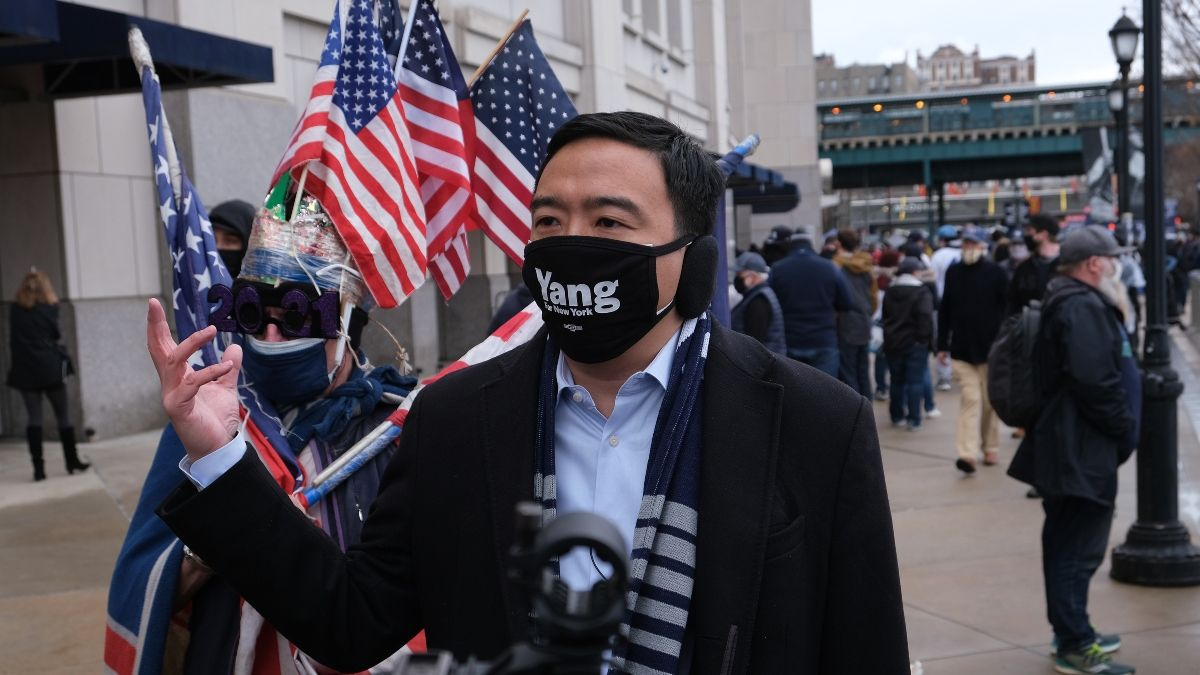 New York City 2021 Mayoral Election Odds: Andrew Yang an Overwhelming Early Favorite article feature image