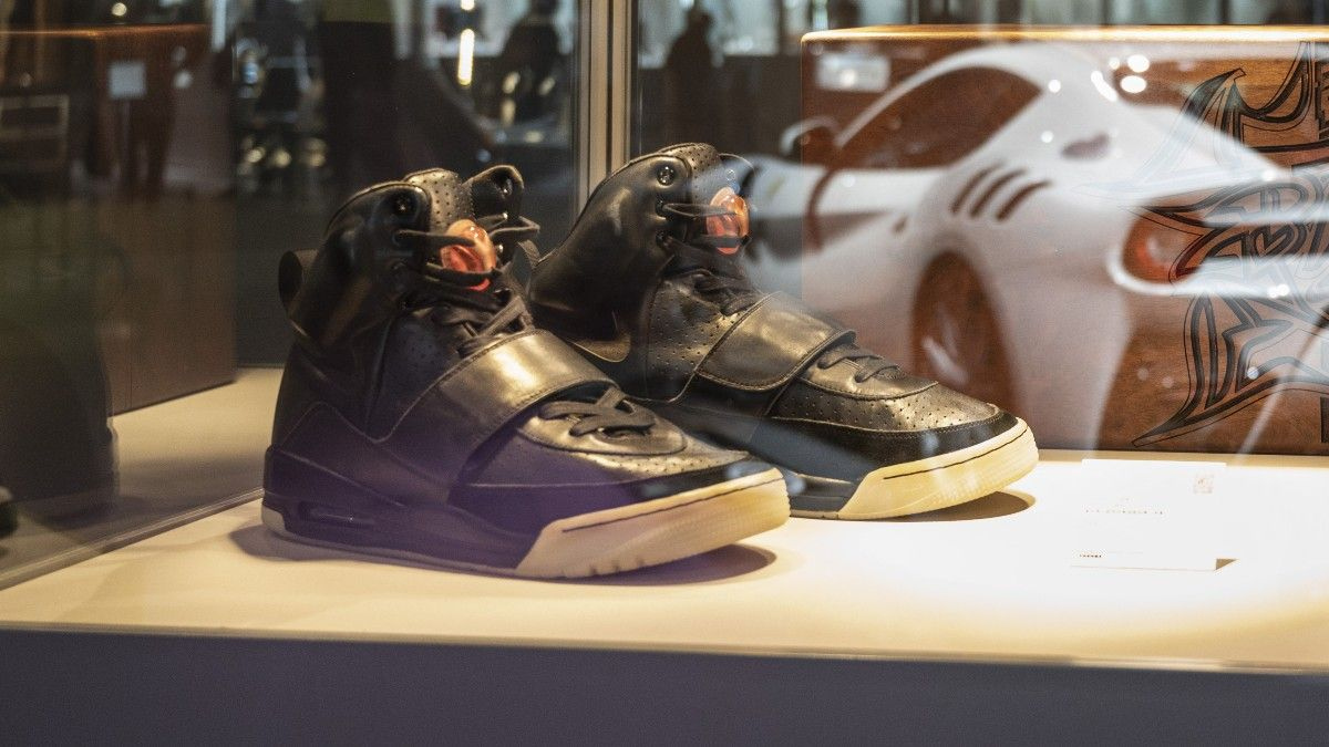 Kanye West's Air Yeezy I Smashes Record for Sneaker Sale article feature image