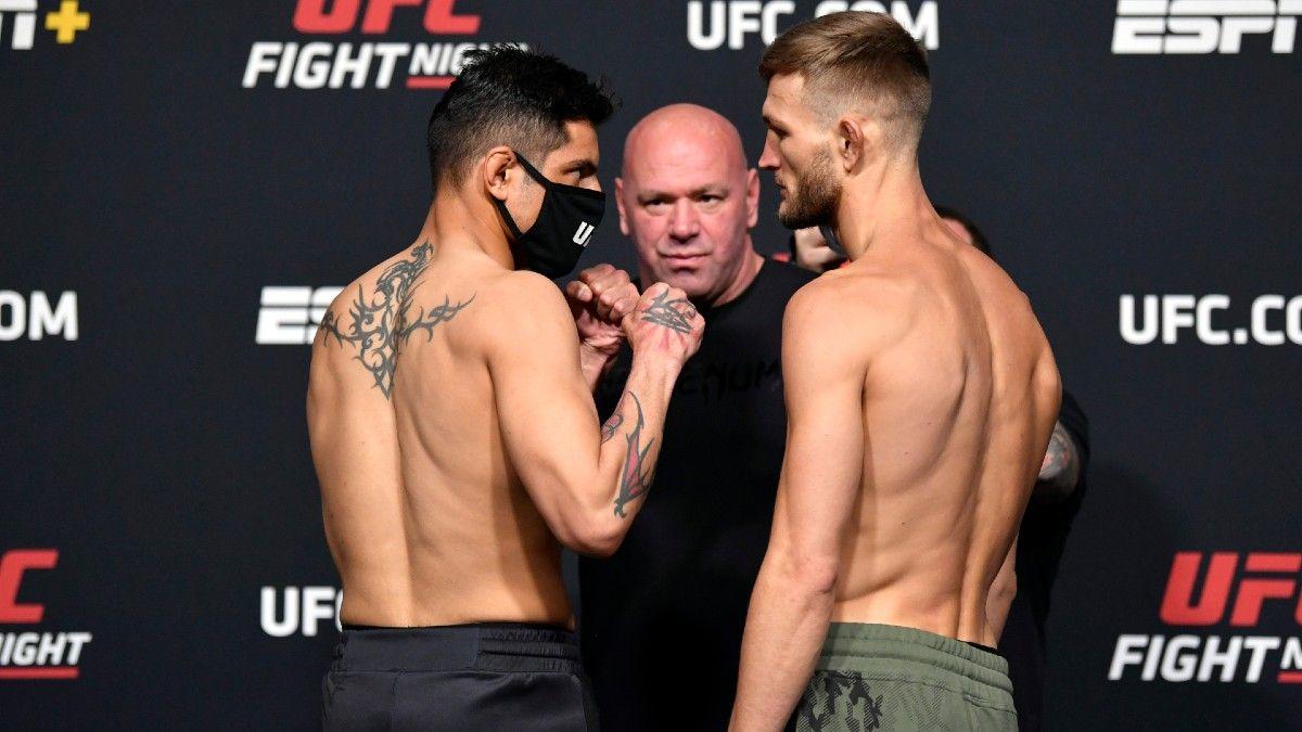 Gabriel Benitez vs. Jonathan Pearce: UFC Fight Night Odds, Pick & Prediction (Saturday, May 1) article feature image